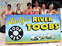 Andy's River Toobs!